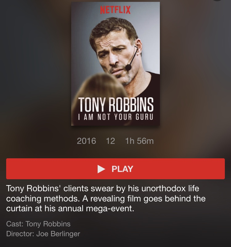 Tony Robbins - Não sou seu guru